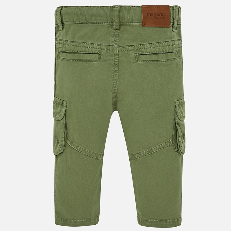 Mayoral Baby Boys Cargo trousers 1527 (2218528342114)