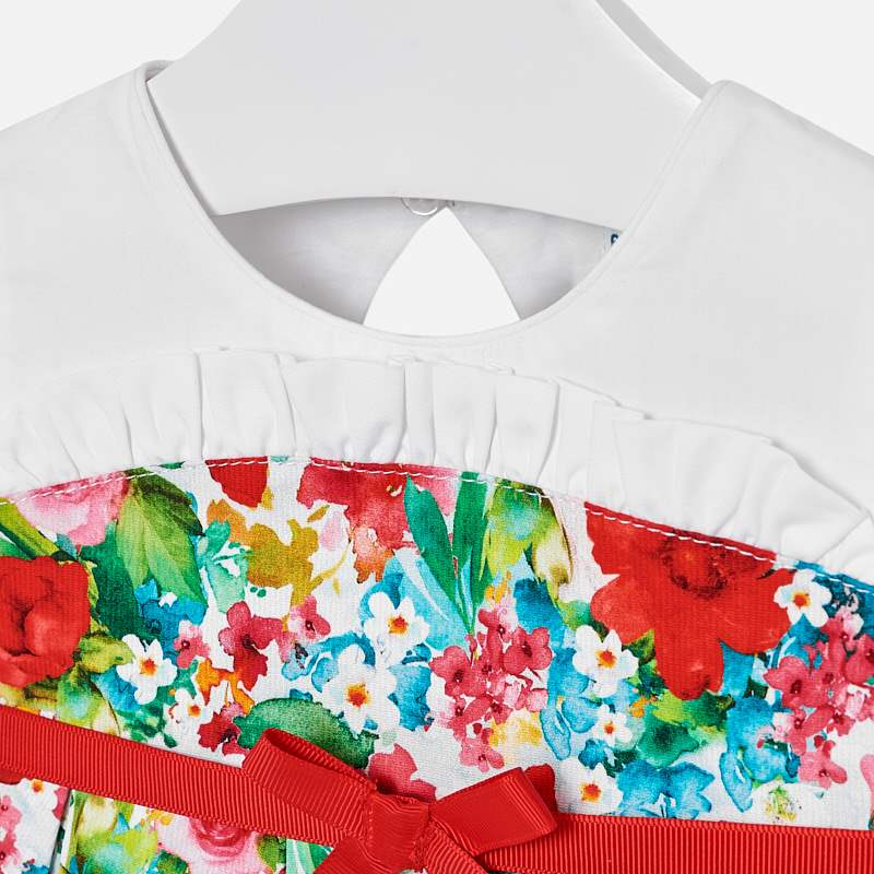 Mayoral Baby Girl Floral Dress 1911 (2189657931874)
