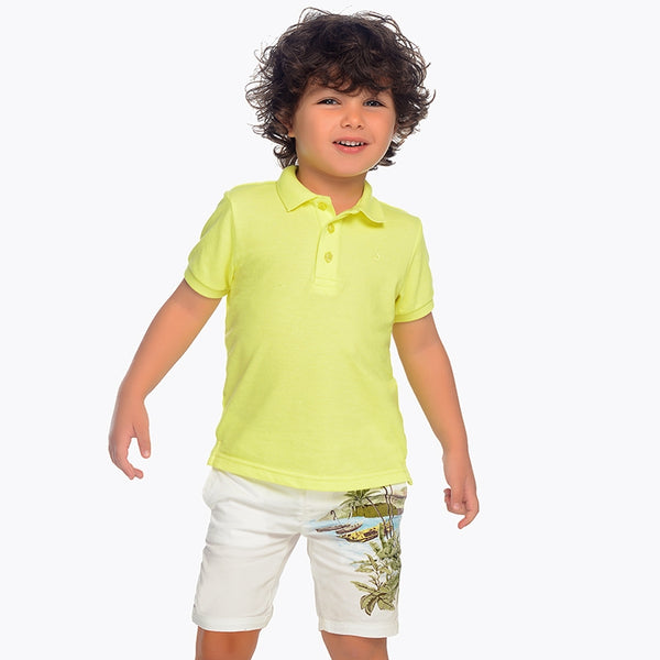 Mayoral Boy SS19 Bermuda Printed Shorts 3224 (2132257833058)