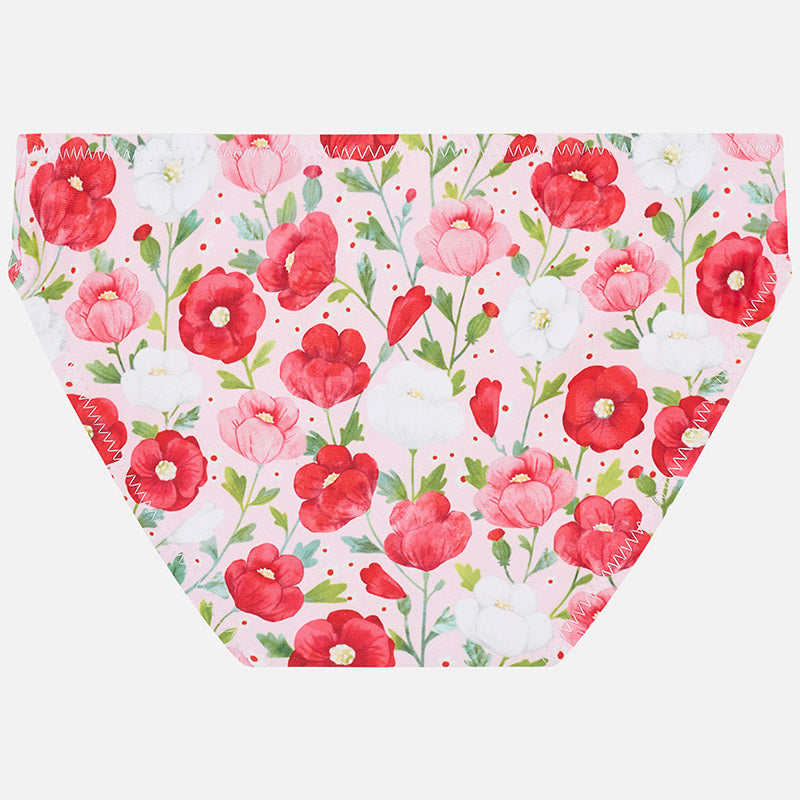 Mayoral Girl Red floral Bikini 3712 (2026709090402)