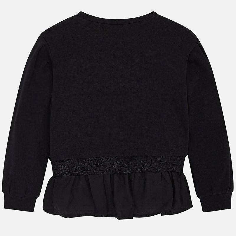 Mayoral Girl Black Pullover 6403 (2047229853794)