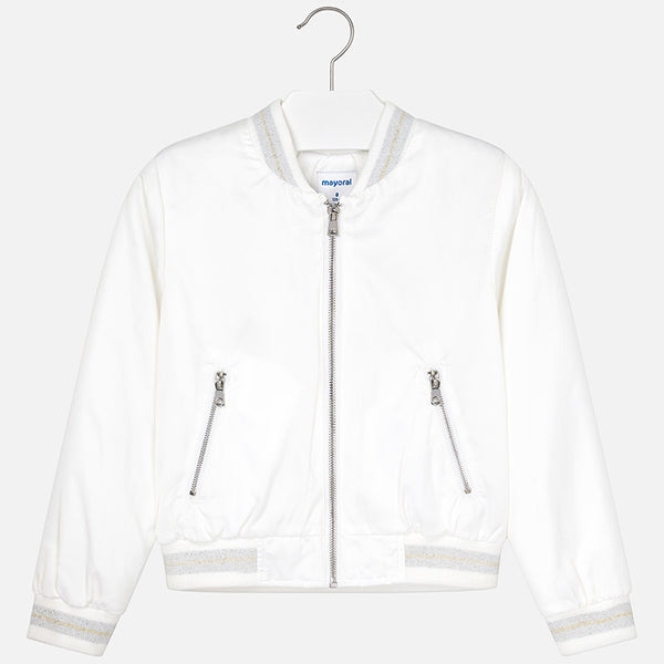 Mayoral Girl Raso Bomber Jacket 6407 (2049137836130)