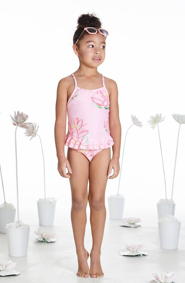 A Dee Bailey Pink Swimming Costume 3803 (1940248199266)