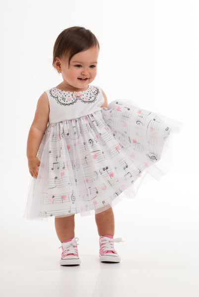Kate Mack Prima Ballerina Dress 580 - Bumkins Designer Kids