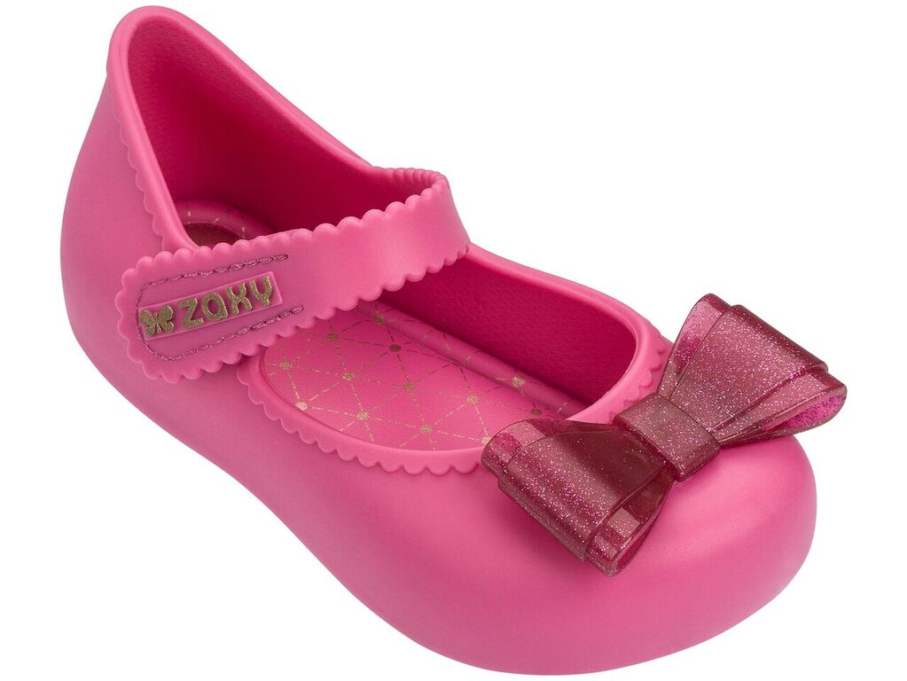 Zaxy Baby Enchanted Bow Shoes Pink