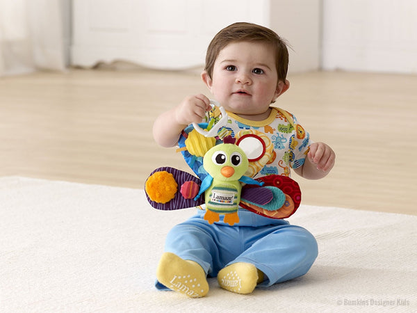 Lamaze Jacque The Peacock Toy 0m+ - Bumkins Designer Kids (8122768200)
