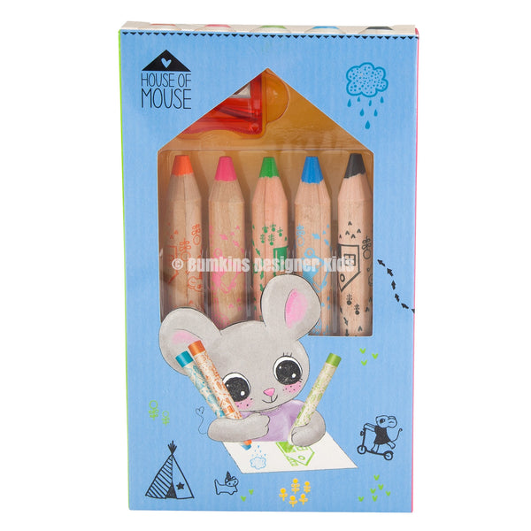 House of Mouse Pencil Crayons 8893 - Bumkins Designer Kids (8894188561)