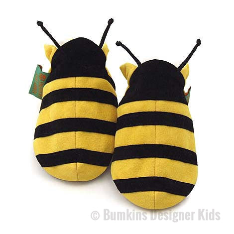 Funky Feet Fashions Bee Soft Baby Shoes / Slippers - Bumkins Designer Kids (8279880200)