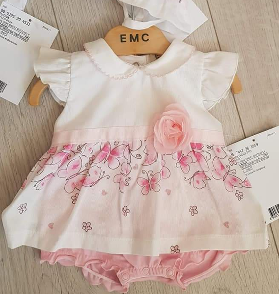 EMC SS20 Pink Butterfly Dress 7447