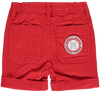 Mitch and Son Sonny Red Twill Shorts 1127