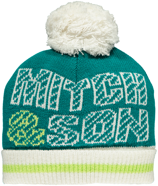 Mitch and Son AW19 Abbot Teal Knitted Hat 1214H (3827345850466)