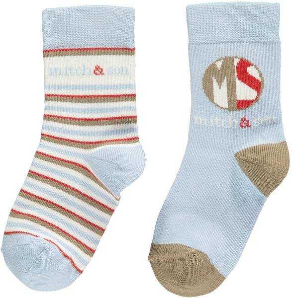 Mitch and Son AW19 Albert 2PK socks 1252