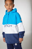 Mitch SS20 Charles Blue and White Hooded Pull Over Jacket 0001 (4342294741090)