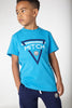 Mitch SS20 Christian Dresden Blue Printed T-Shirt 0004 (4342295429218)