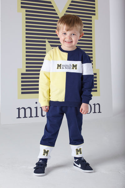 Mitch and Son SS20 Samuel Navy Tracksuit 1320 (4342217408610)