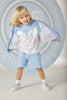 Mitch and Son SS20 Robbie Pale Blue mix Polo Top and Shorts Set 1352 (4342214033506)