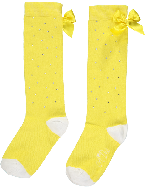 A Dee SS20 Babe Sparkle Lemon Knee Socks 2918 (4341415149666)