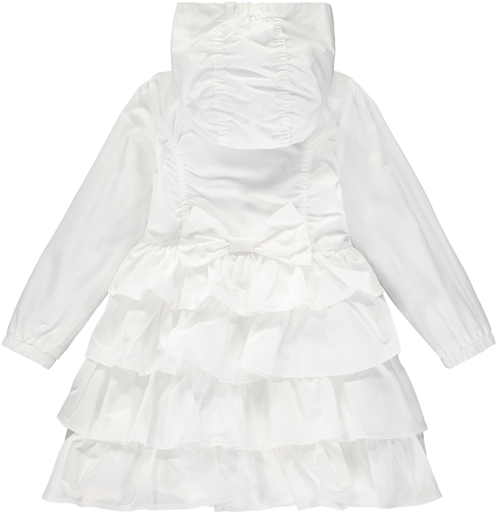 A Dee SS20 Dacia Bright White Frilly Jacket 4207 (4344610127970)