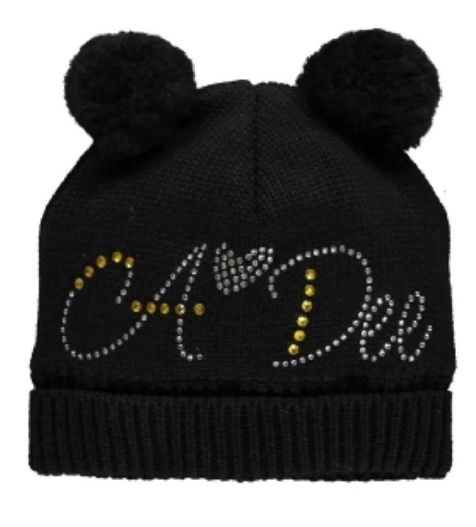 A Dee AW19 Andrea Black Angels Pom Hat 2911 (2241355579490)