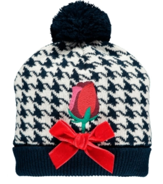 A Dee AW19 Ainsley Royal Garden Knitted Hat 4923