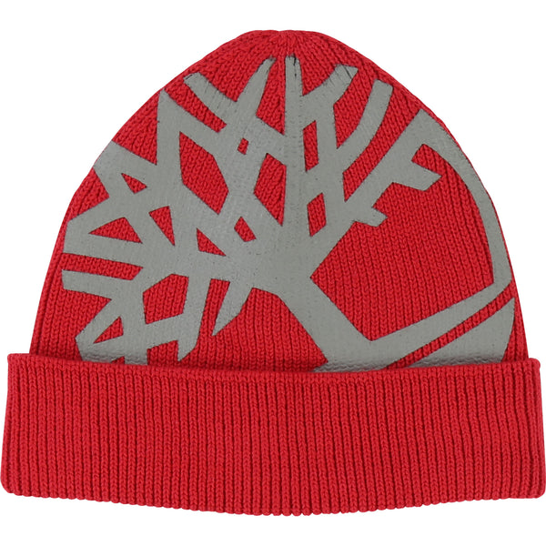 Timberland Red Knitted Hat 1273