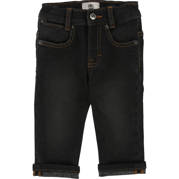 Timberland Black Denim Trousers 4906