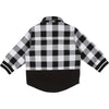 Timberland Black & White Checked Shirt 5H47
