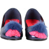 Billieblush Navy Pom Ballett Shoes 9150 - Bumkins Designer Kids