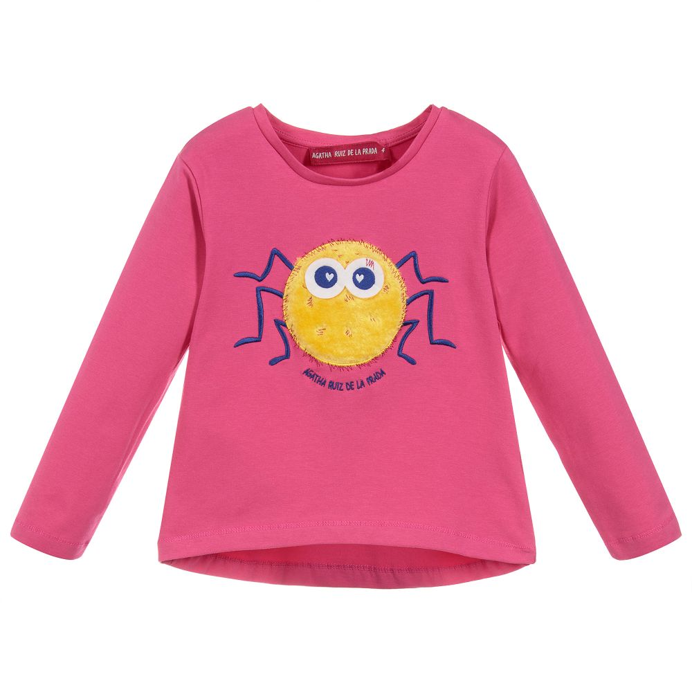 Agatha Ruiz De La Prada Happy Animals Spider Top 2683 (1605893685346)