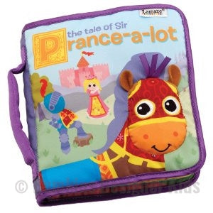 Lamaze The Tale of Sir Prance-a-lot Discovery Book 12m+ - Bumkins Designer Kids (8122456968)