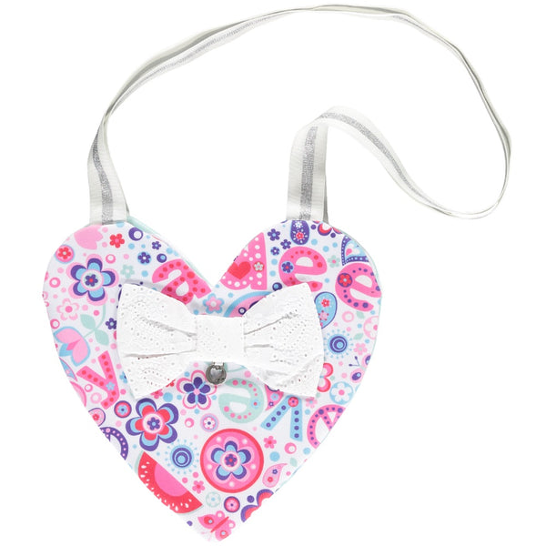A Dee Amy Paisley heart Bag 4911