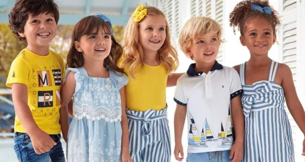 Mayoral Boys Girls SS20 Designer Clothes Collection