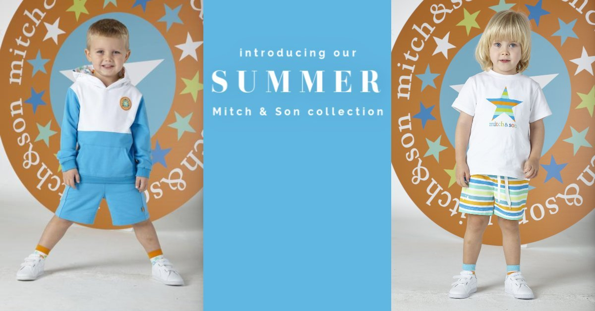 Mitch and son aw19 boys clothes designer