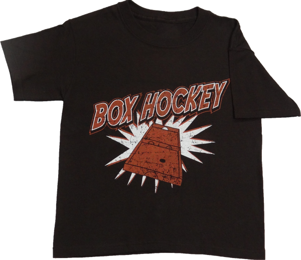 Manitoqua Box Hockey brown shirt