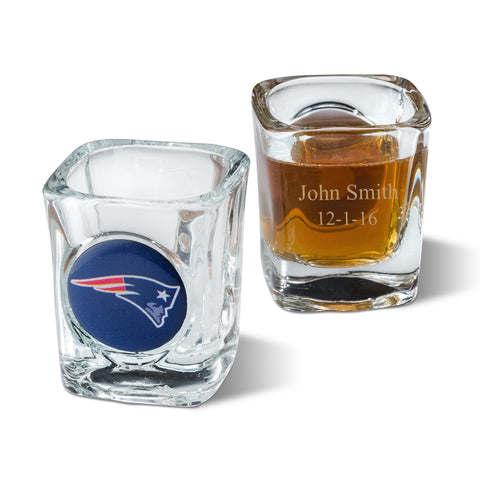 Personalized NFL Shot Glass  #GC648
