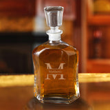 Whiskey Glass Decanter #GC1269