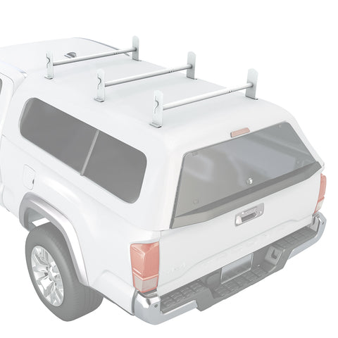 AA-Racks Universal Pickup Truck Cap & Topper Ladder Van Roof Rack Adjustable Steel - (DX36-Camper)
