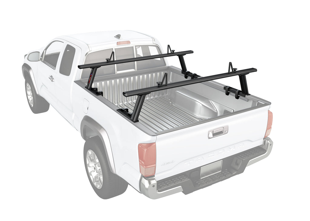 AA-Racks Low-profile Utility Aluminum Pick-Up Truck Ladder Rack with Load Stop (APX2502)