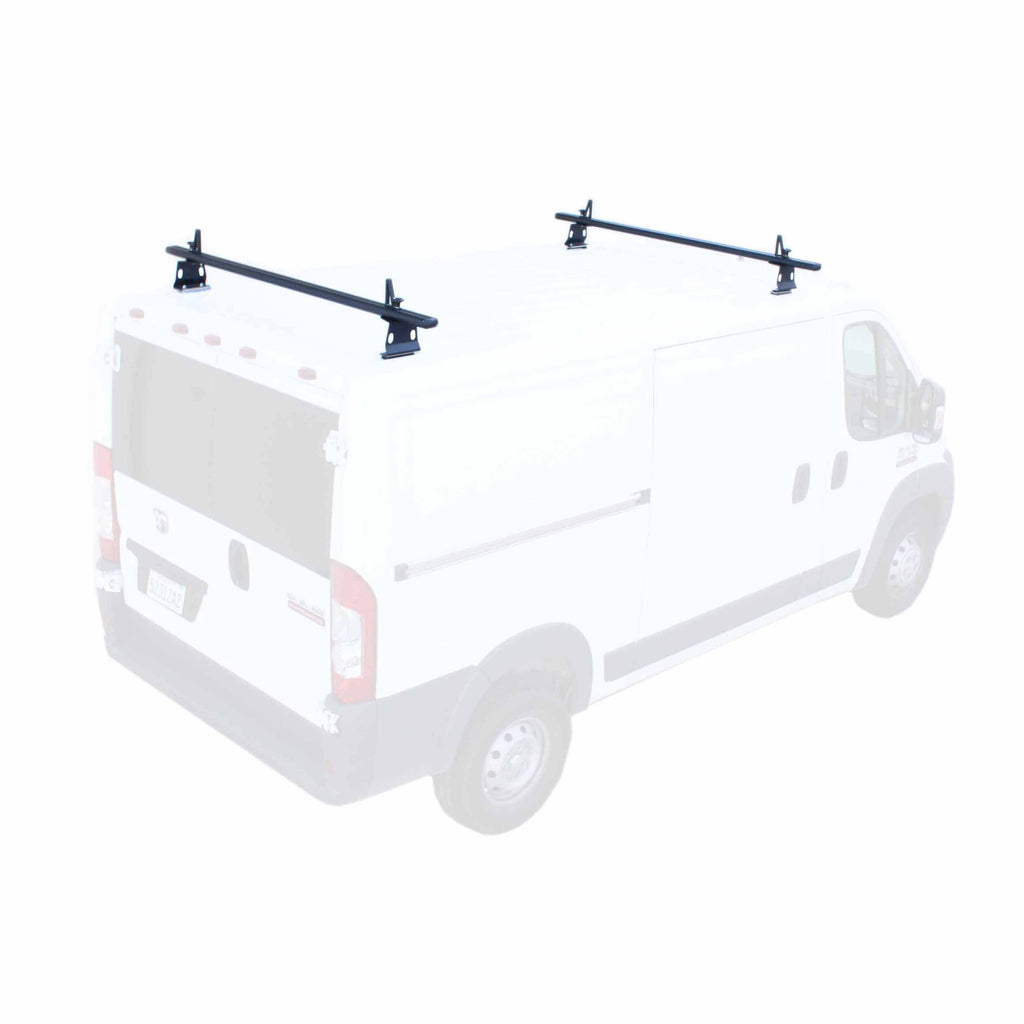 AA-Racks Aluminum 72'' ProMaster Van Roof Rack System with Load Stop (Fits: RAM ProMaster 2013-On) (AX302-PR)