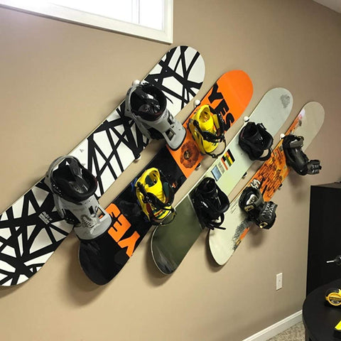 AA Products Portable Plastic Snowboard Display Wall MountFor Storing And Organizing Your Snowboard (SWM-P1)