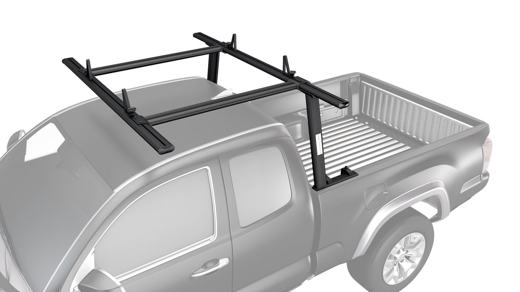 AA-Racks Universal Aluminum Pickup Truck Rack w/ Cantilever Extension Utility Rack (APX25-A-E)