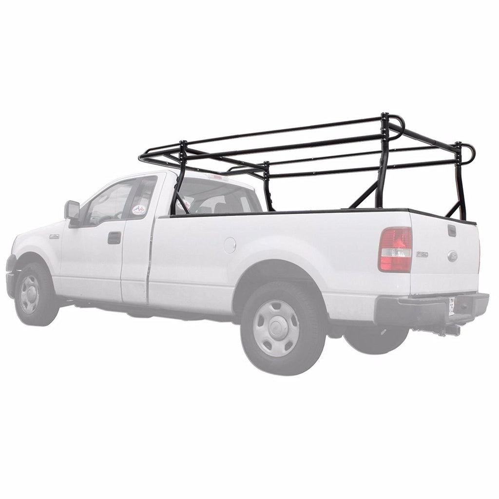 AA-Racks Heavy Duty Pickup Truck Ladder Lumber Contractor Racks (30'' Over-Cab Ext.) - (X39-SC)