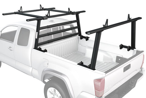 AA-Racks Aluminum Headache Rack Pickup Truck Rack w/ Cantilever Extension Back Rack (APX25-WG(3)-E)