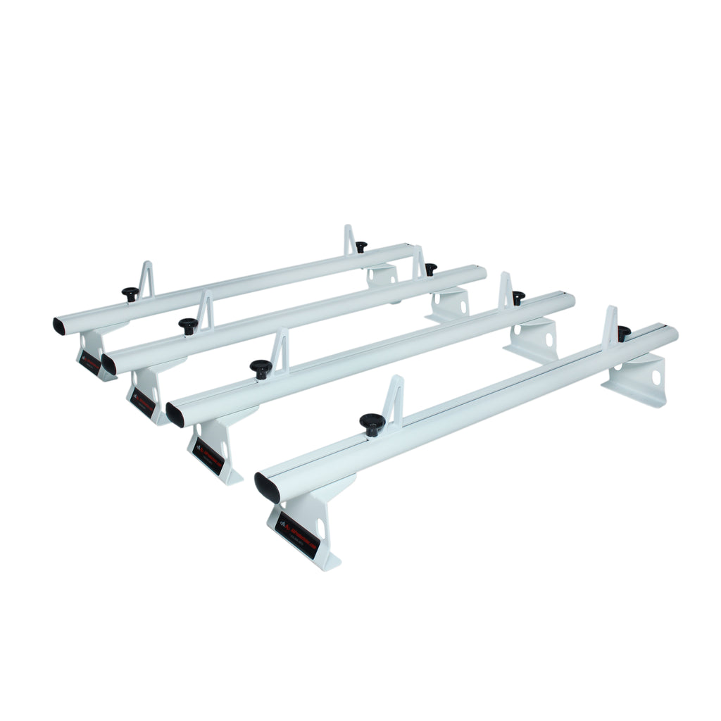 AA-Racks Transit 2015-On Aluminum Cargo Van Roof Ladder Rack with Load Stop (AX302-TR)