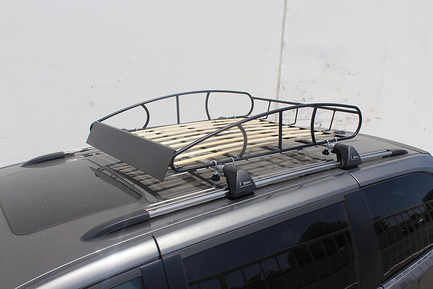 0a4d4cd7a33d Matte Black Paint Polishing - Universal Roof Rack Cargo Car Top ...