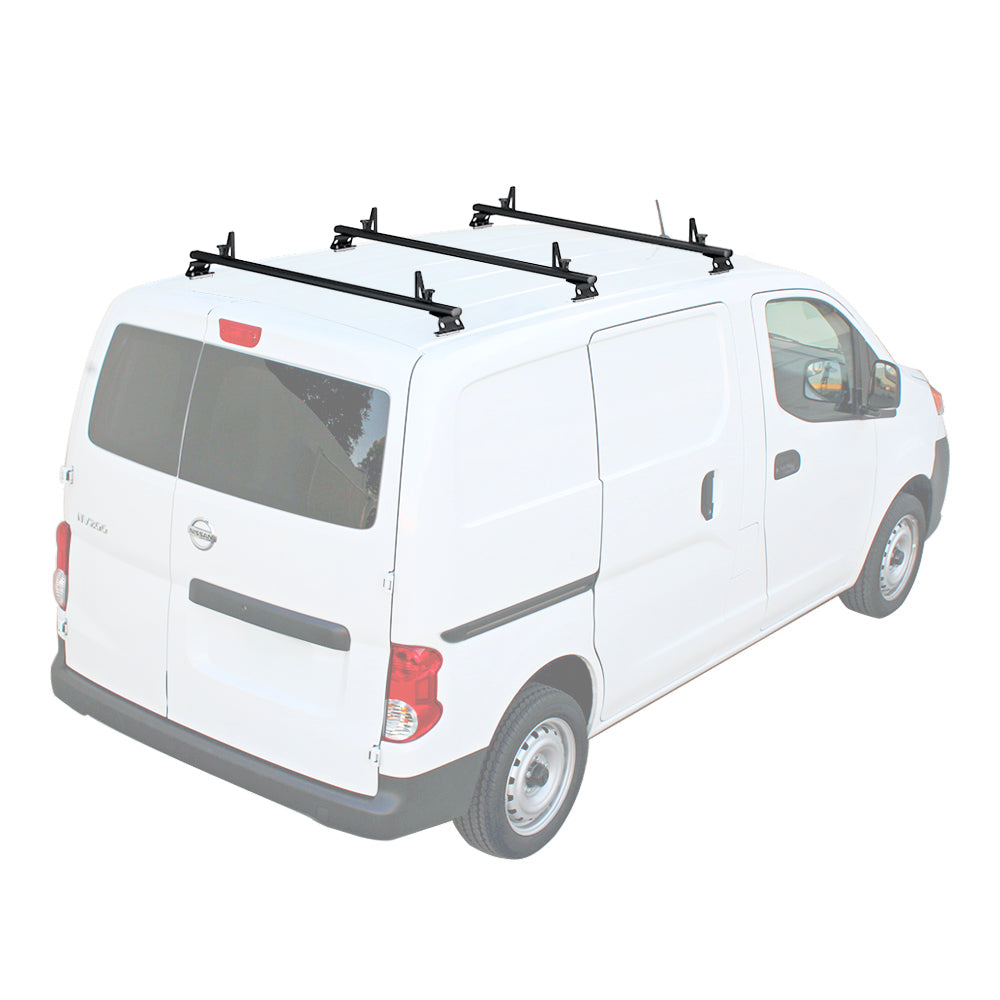 AA-Racks Aluminum Cargo Van Top Ladder Roof Racks (Fits: Nissan NV200 2013-On) (AX312-NV200)