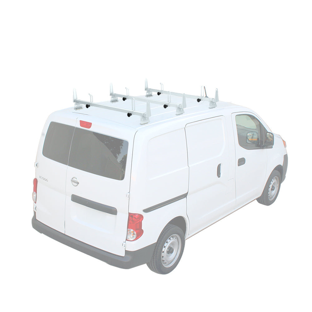 AA-Racks Heavy Duty Steel Car Top Cross Bar Van Roof Racks for Nissan NV200 (X202-NV200)