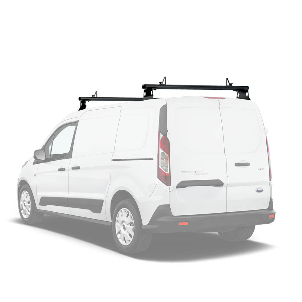 AA-Racks Aluminum Van Roof Ladder Rack with Load Stoppers (Fits: Transit Connect 2014-Newer) (AX302-TR(CN))