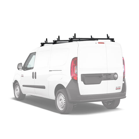 AA-Racks Aluminum Cargo Carrier Van Ladder Roof Racks (Fits: ProMaster City 2015-On) (AX312-PR(CT))