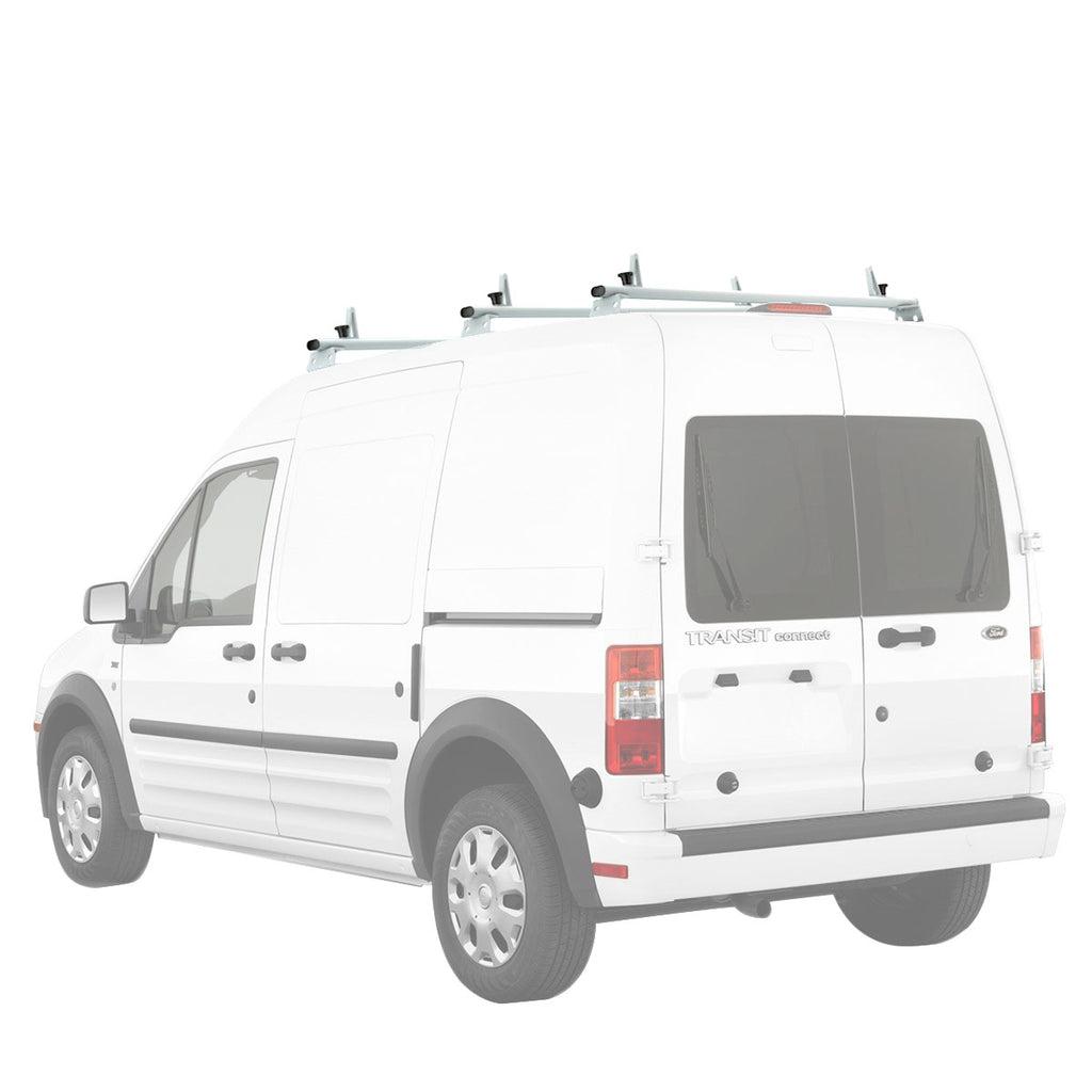AA-Racks Aluminum Car Roof Top Van Ladder Roof Racks (Fits: Transit Connect 2014-Newer) (AX312-TR(CN))